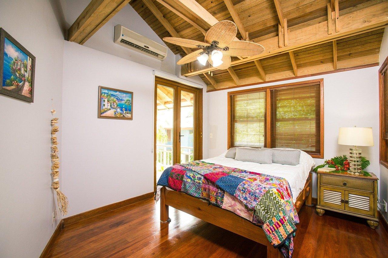 intérieur maison de vacances